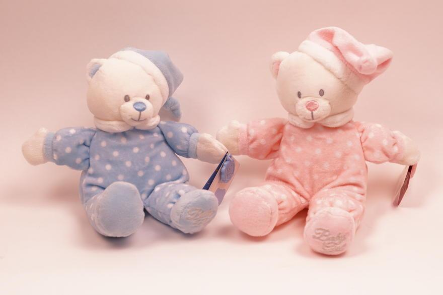 Nalle baby girl/boy 16cm Keel Toys