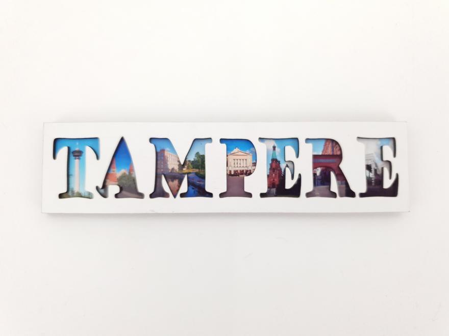 Magneetti Tampere puinen kuvilla